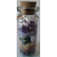Filled Fairy Stone Bottles