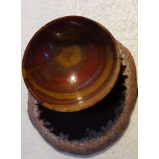 Jasper - Red Fairy Bowl/Agate Slice