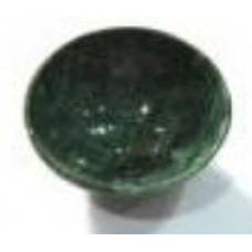 Bloodstone crystal bowl