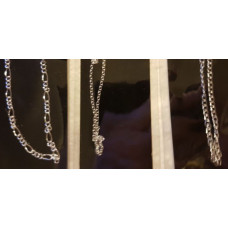 Silver Plated Chain - 50 cm