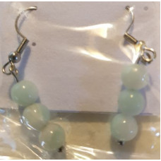 Bead Earrings - Amazonite