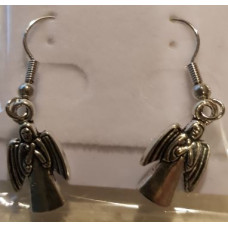 Charm Earrings - Silver - Arch Angels
