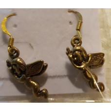 Charm Earrings - Gold - Cherubs