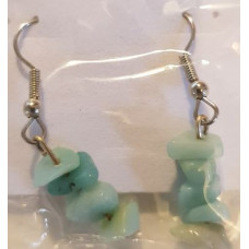 Chip Earrrings - Amazonite