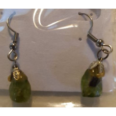 Peridot - Tumble Earrings