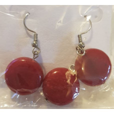 Ruby - Synthetic Pendant/Earring Sets