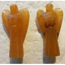 30 mm Calcite - Orange Stone Angels