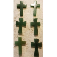 Stone Cross - Aventurine - Green
