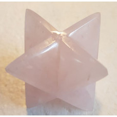 Quartz - Rose Merkaba Large