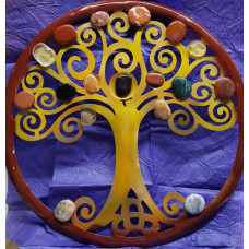 Fire Tree of Life Wall Hanging