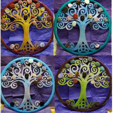 Elemental Trees of Life Wall Art Set