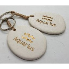 Stone - Zodiac Keyrings - Aquarius