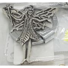 Silver Charm Keyrings - Fairy Large