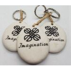 Stone - Words Keyring - Imagination