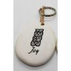 Stone - Words Keyring - Joy