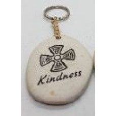 Stone - Words Keyring - Kindness