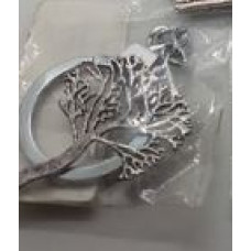 Silver Charm Keyrings - Tree of Life