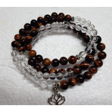 108 Bead Mala - Red Tigers Eye/CQ