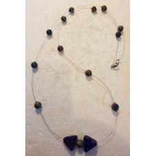 Aura Quartzes Single beaded Necklace