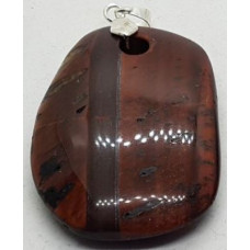 Tigers Eye - Red Pendant