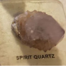 Quartz - Spirit Rough Terminator on Stand