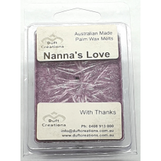 Nanna's Love - Floral Palm Melts