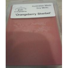 Orangeberry Sherbert - Fruity Soy Melts