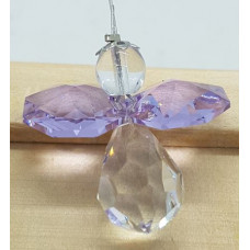 Swarovski crystal Angel Suncatchers - Purple