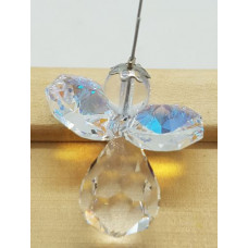 Swarovski crystal Angel Suncatchers - White