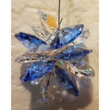 Swarovski crystal Starburst Suncatchers - Lilac, Yellow & Blue